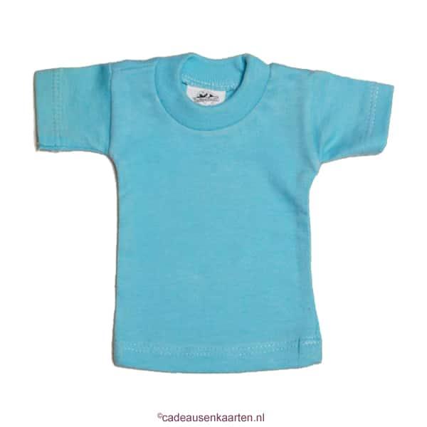 Mini T-shirt met eigen ontwerp cadeausenkaarten.nl